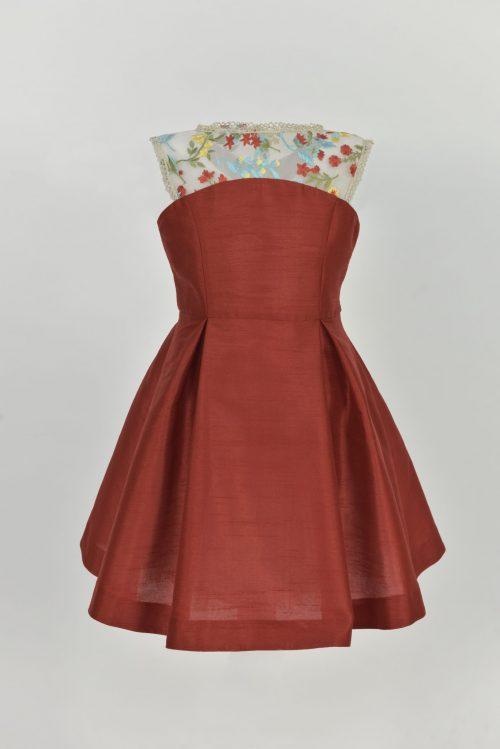 Rochie pentru fete Red Bouquet