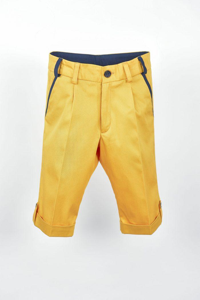 Pantaloni de vară pentru băieți Summer Yellow