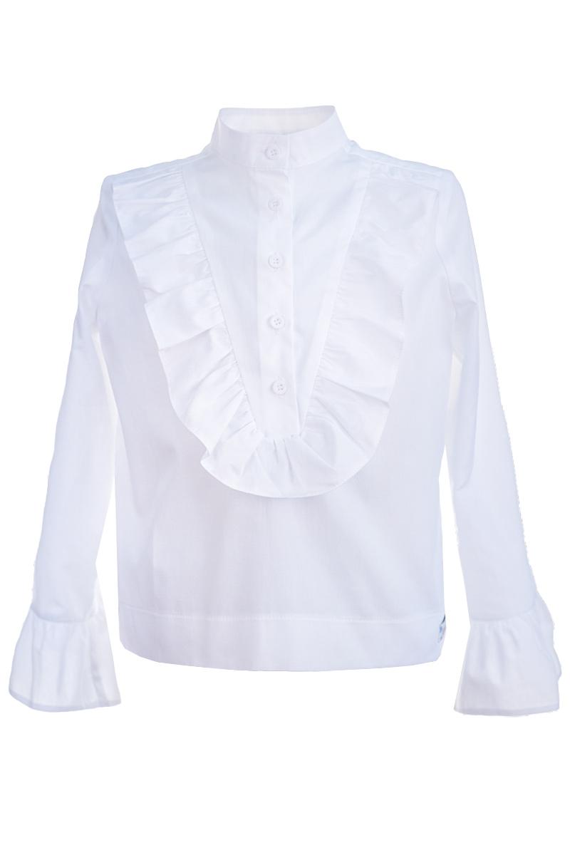 Cămașă albă de școală pentru fete Frills