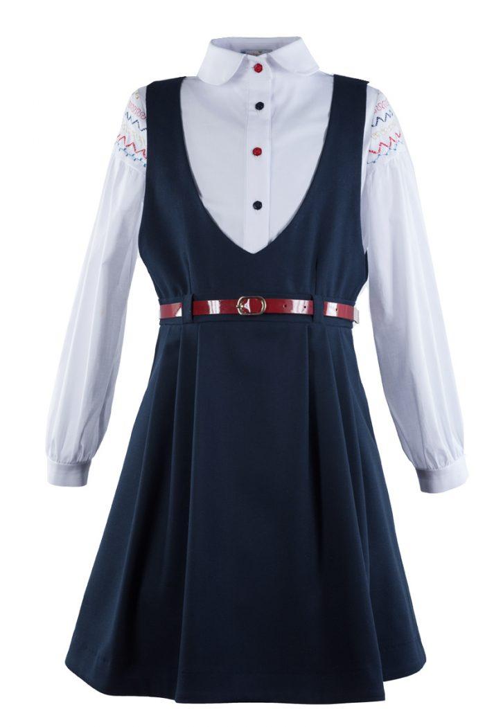 Sarafan de școală Dress-up