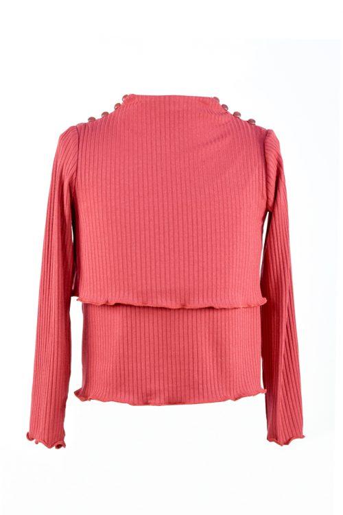 Bluza roșie pentru fete Rita