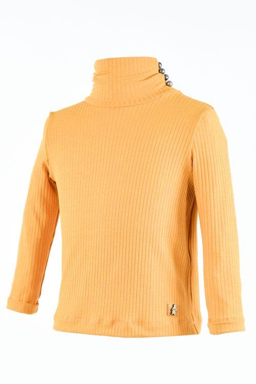 Bluză oranj pentru fete Nona