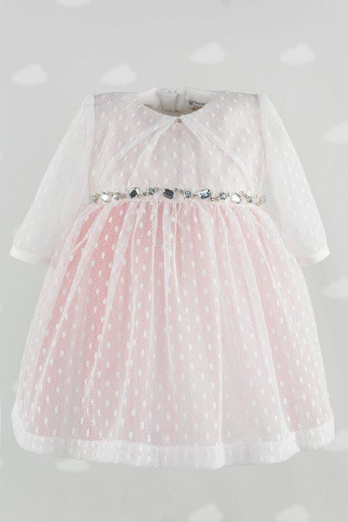 Rochita botez fetite Pink Princess