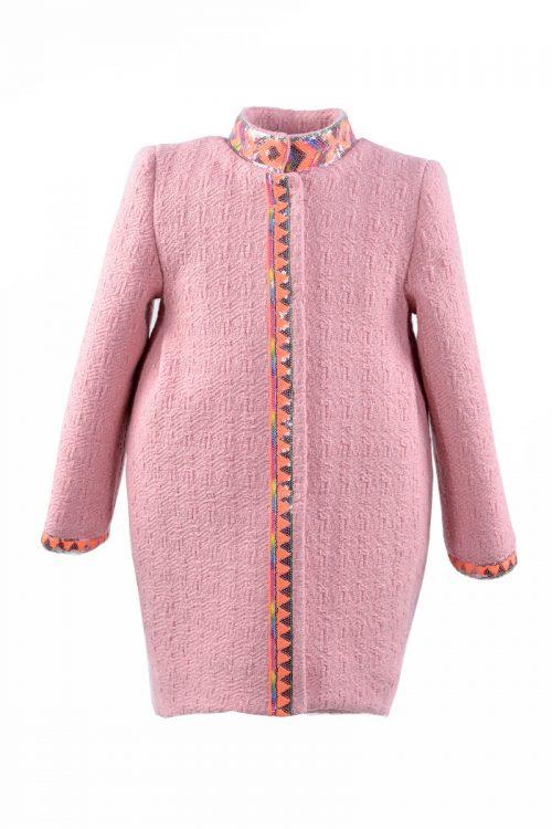 Palton de iarnă pentru fete Pink Desire