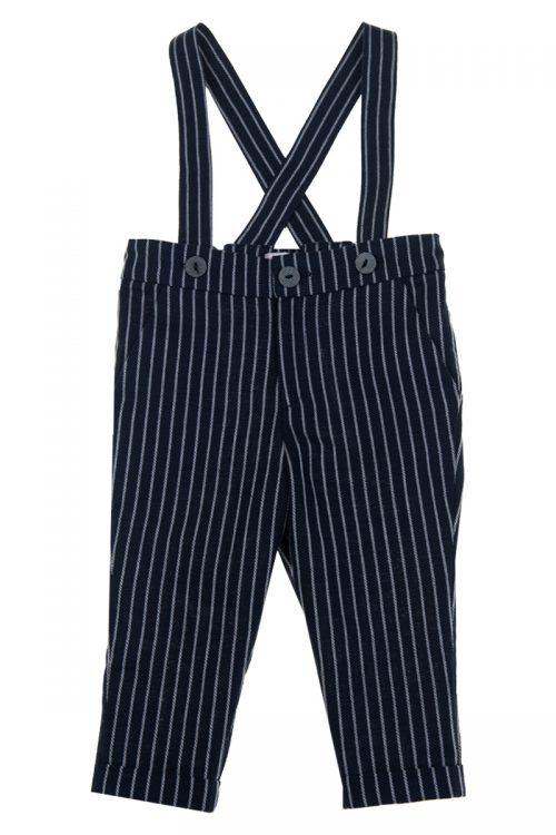 Pantaloni cu bretele pentru bebeluși Owen