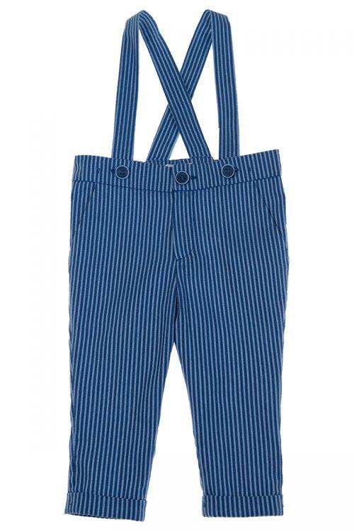 Pantaloni cu bretele pentru bebeluși Julian