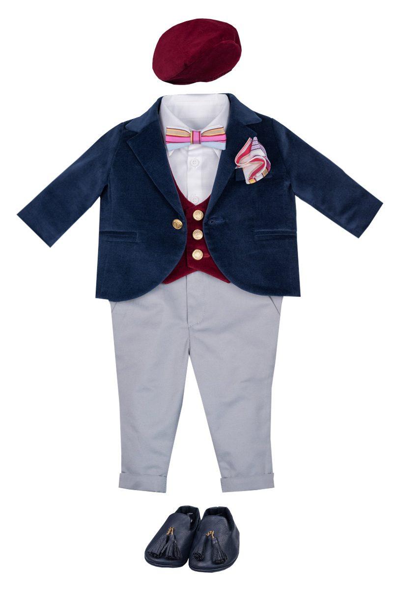 Costum de botez pentru băieți Little Tailor Dylan