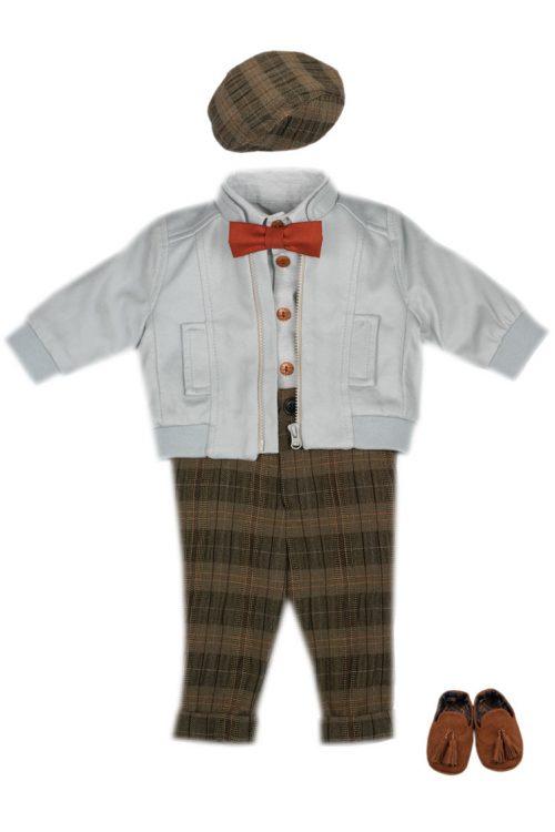 Costum de botez pentru băieți Little Tailor Julian