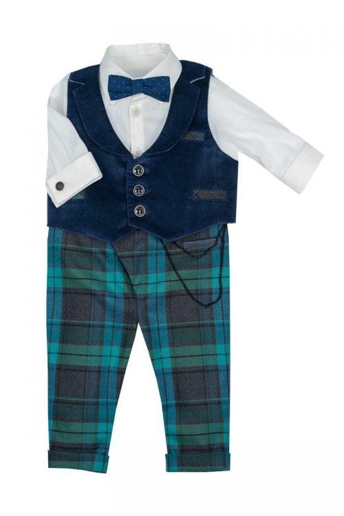 Costum de botez pentru băieți Little Tailor Elan