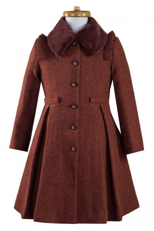 Palton de lână pentru fete Tina