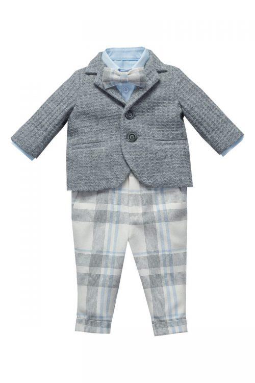 costum de botez pentru băieți Little Tailor Evan