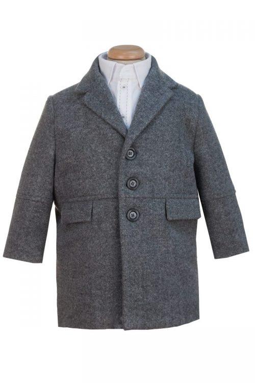 Palton gri pentru băieți Arnold
