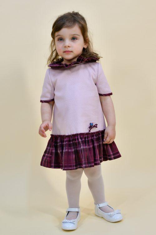 Rochie lila pentru fetițe Stella