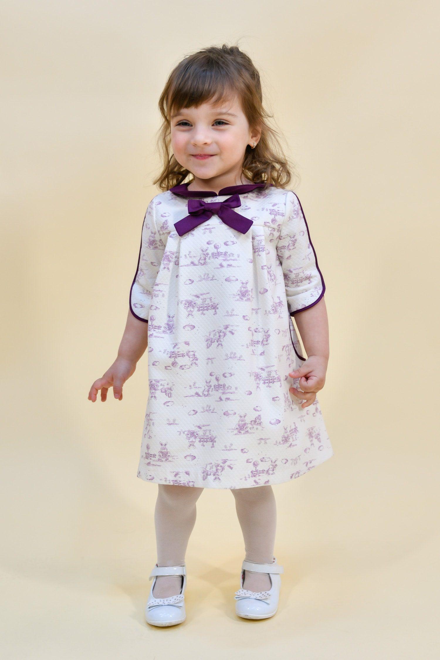 Rochie pentru fetițe Alice in Wonderland