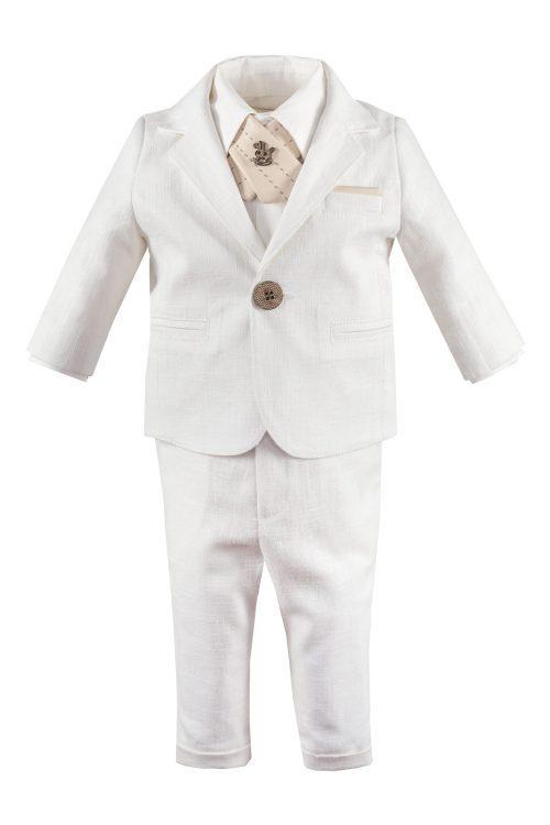 Costum de botez pentru băieți Giancarlo