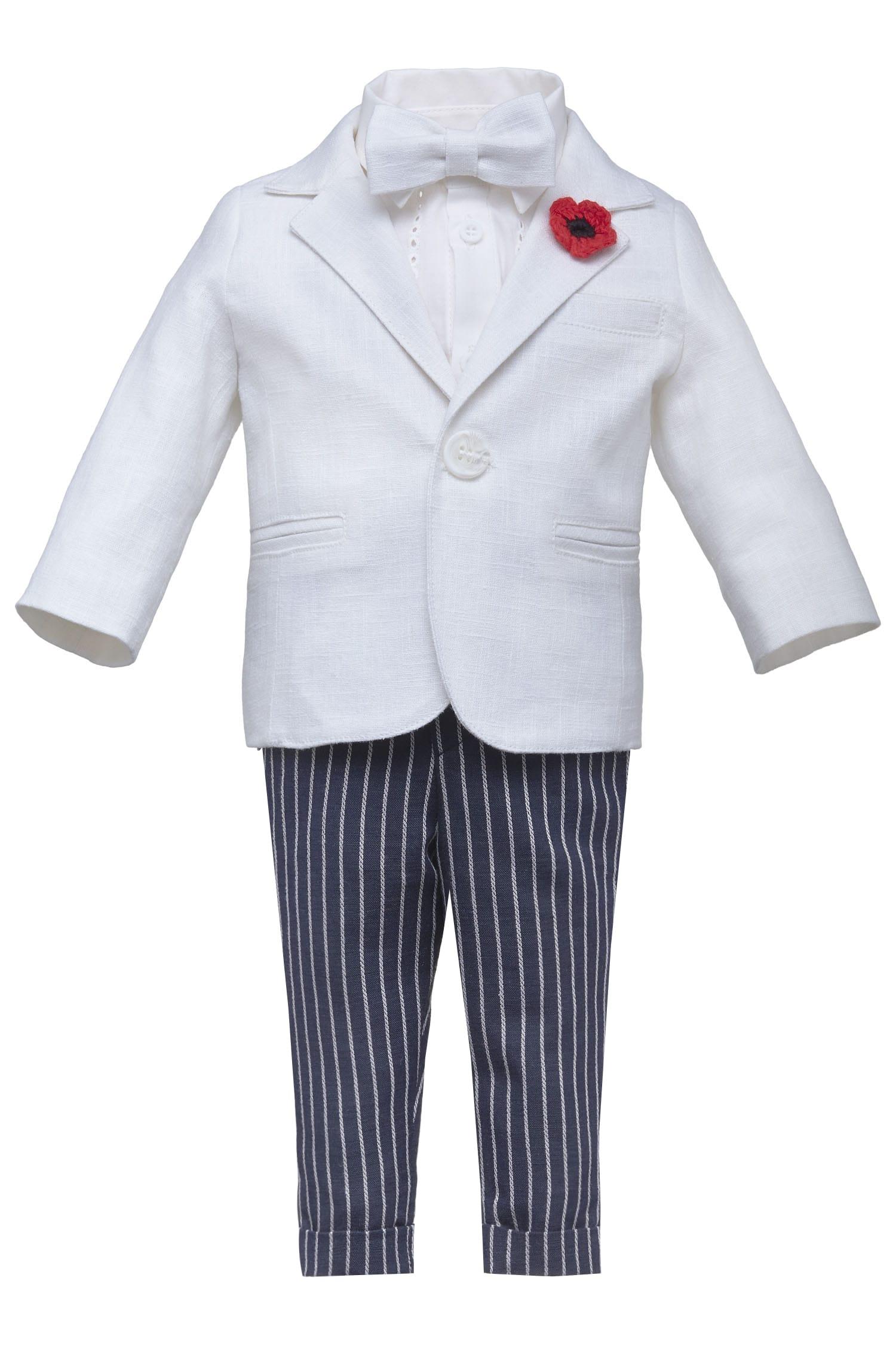 Costum de botez pentru băieți Ian