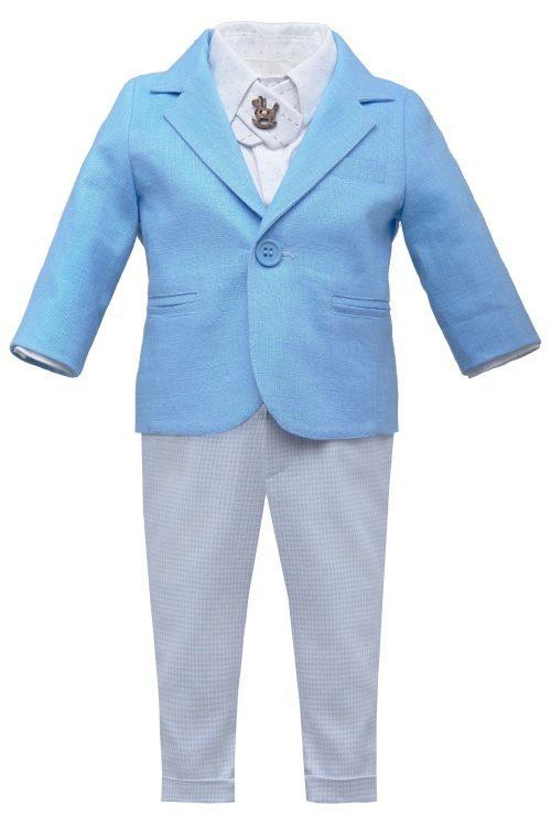 Costum de botez pentru băieți Caleb