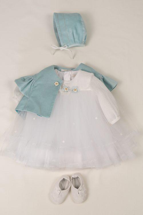 Rochie de botez pentru fetițe Erica