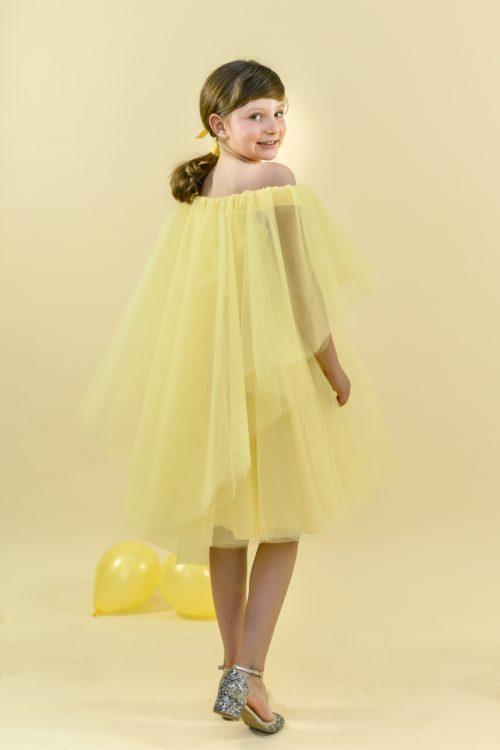 Rochie de vară pentru fete Jolie Galbenă