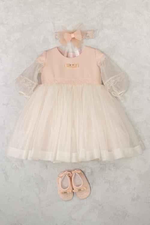 Rochie de botez pentru fetițe Marie