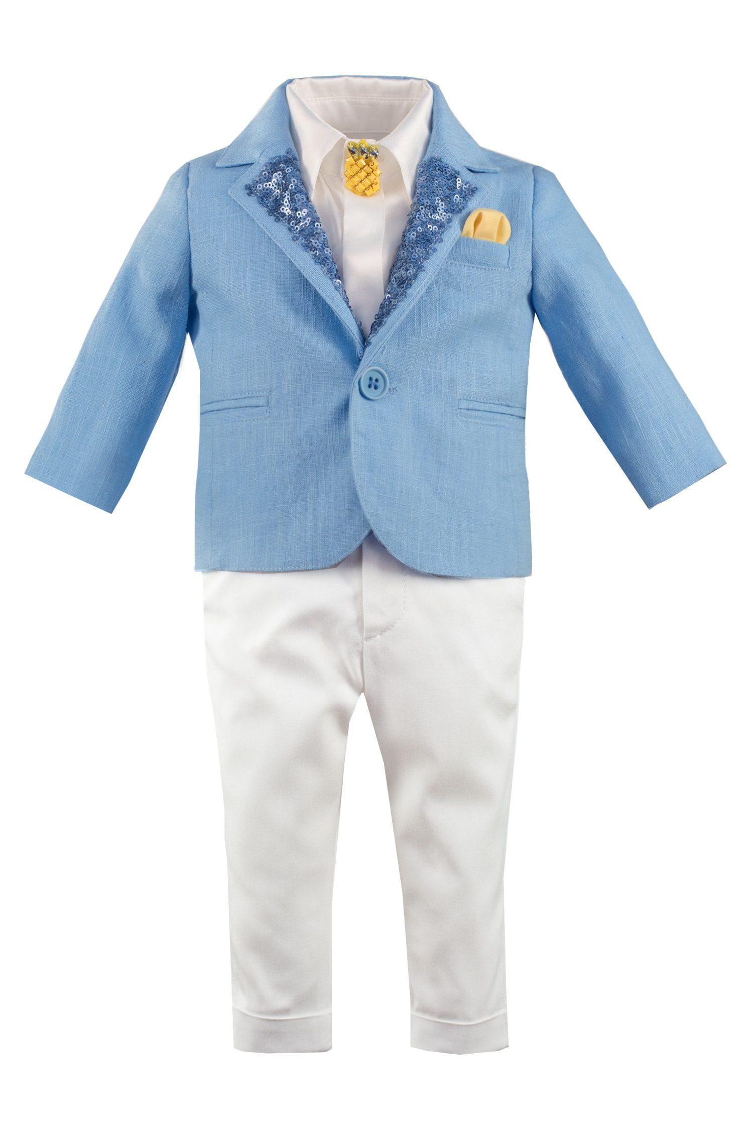 Costum de botez pentru băieți Iannis