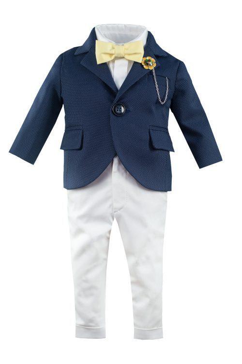 Costum de botez pentru băieți Richard