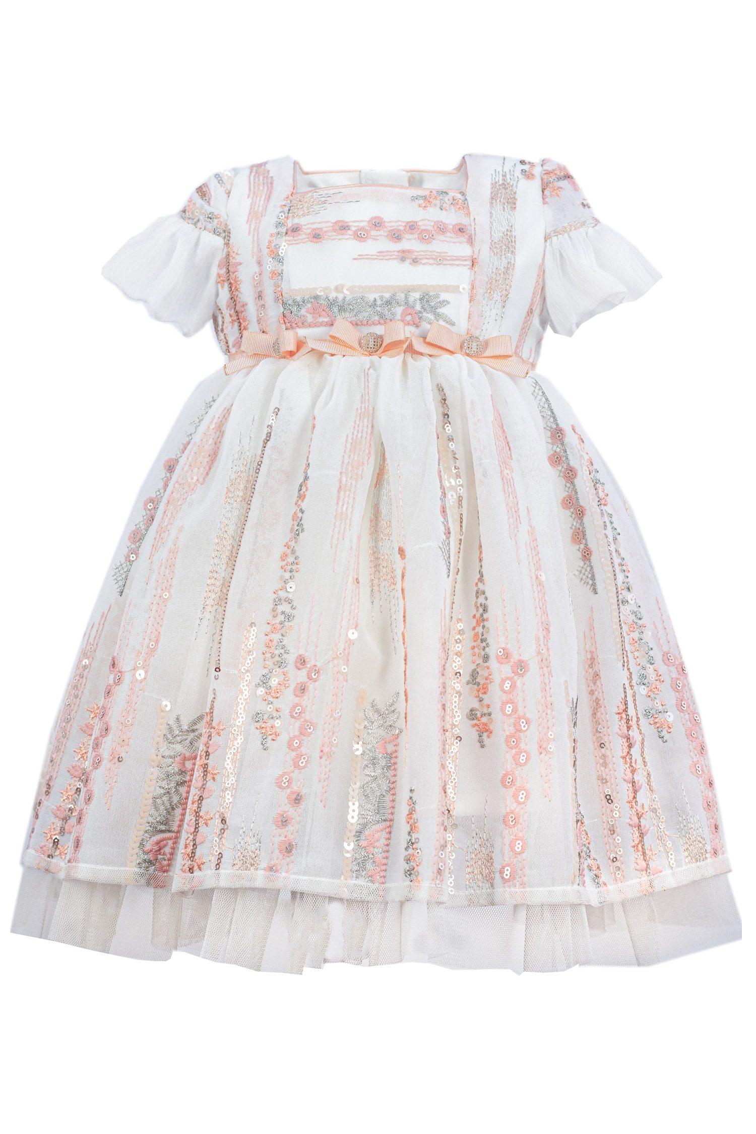 Rochie de botez pentru fetițe Clara
