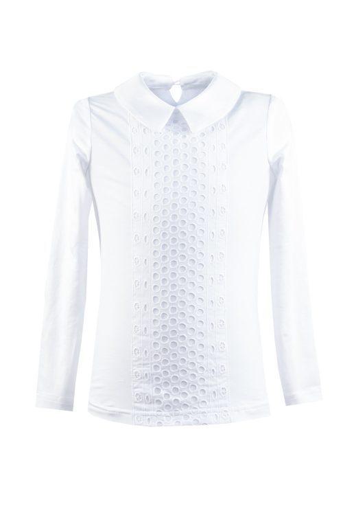 Bluză albă de școală pentru fete Melisa