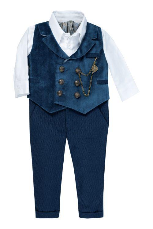 Costum de botez pentru băieți Anason