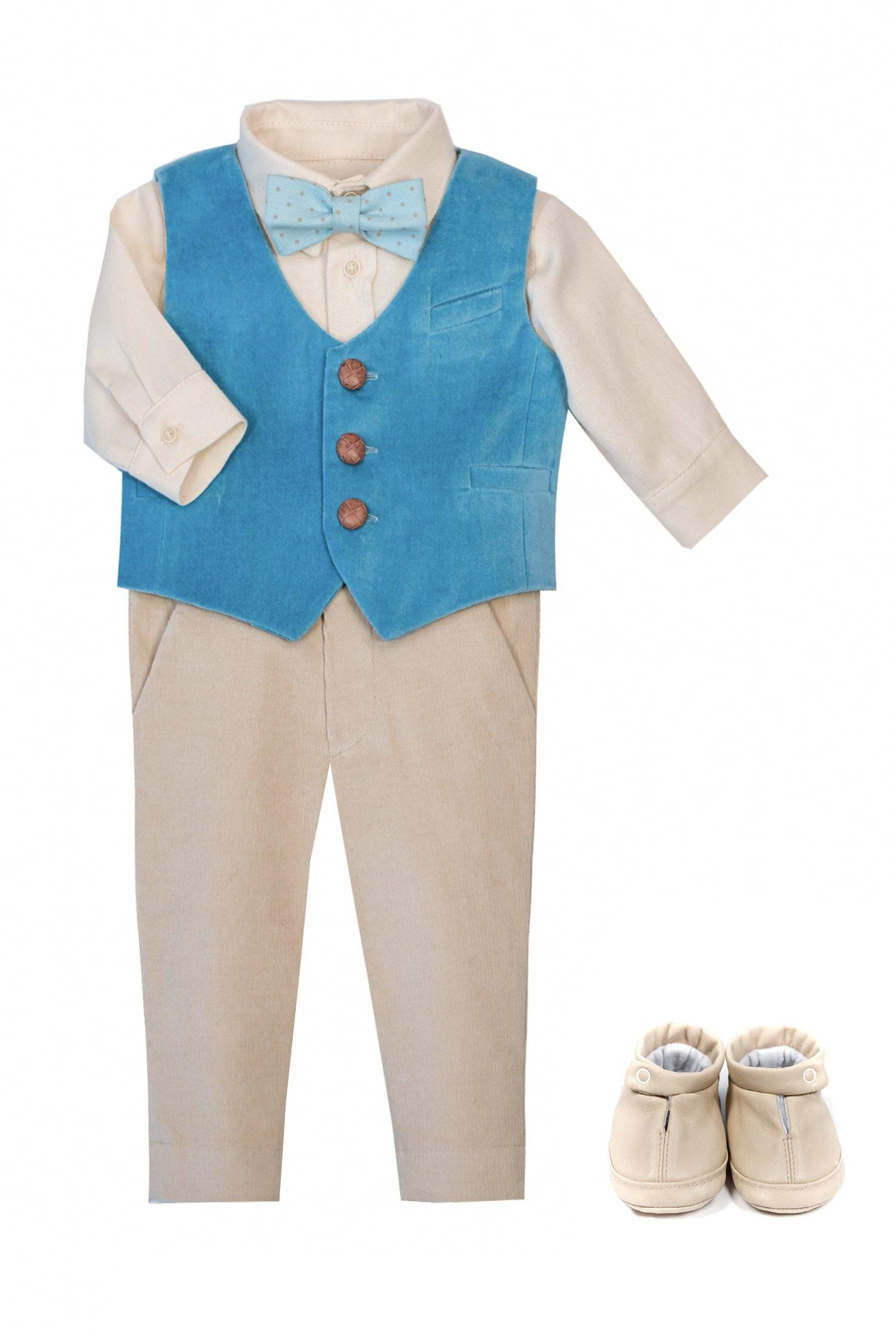 Costum de botez pentru băieți Oliver