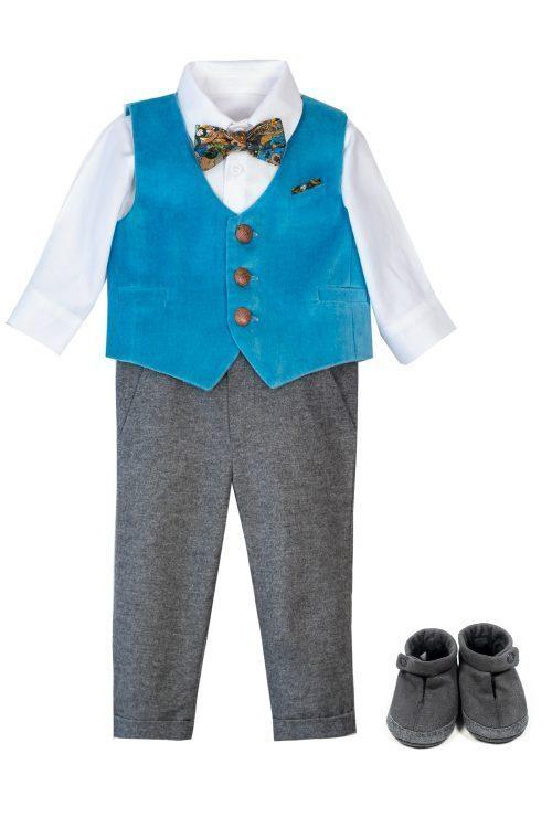 costum de botez pentru băieți Rocco