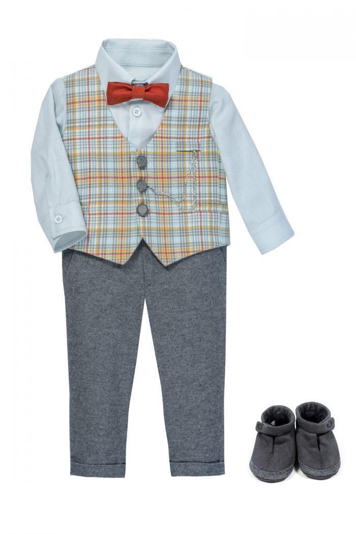 Costum de botez pentru băieți Benedetto