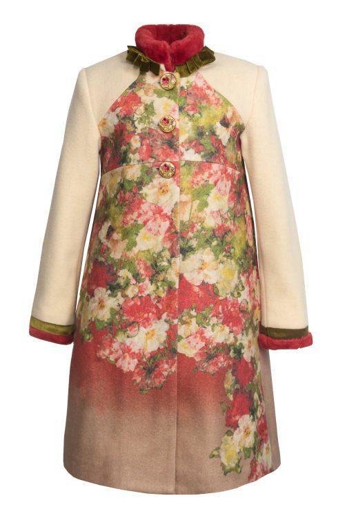 Palton de lână pentru fete Anna Karenina