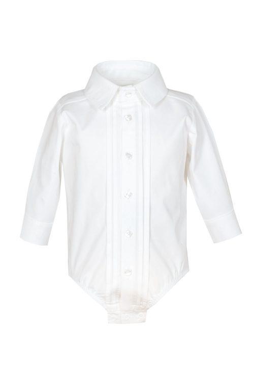 Cămașă-body albă pentru bebeluși Nicholas