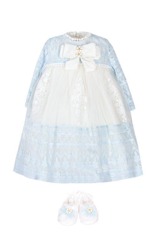 Rochie de botez pentru fetițe Angelie