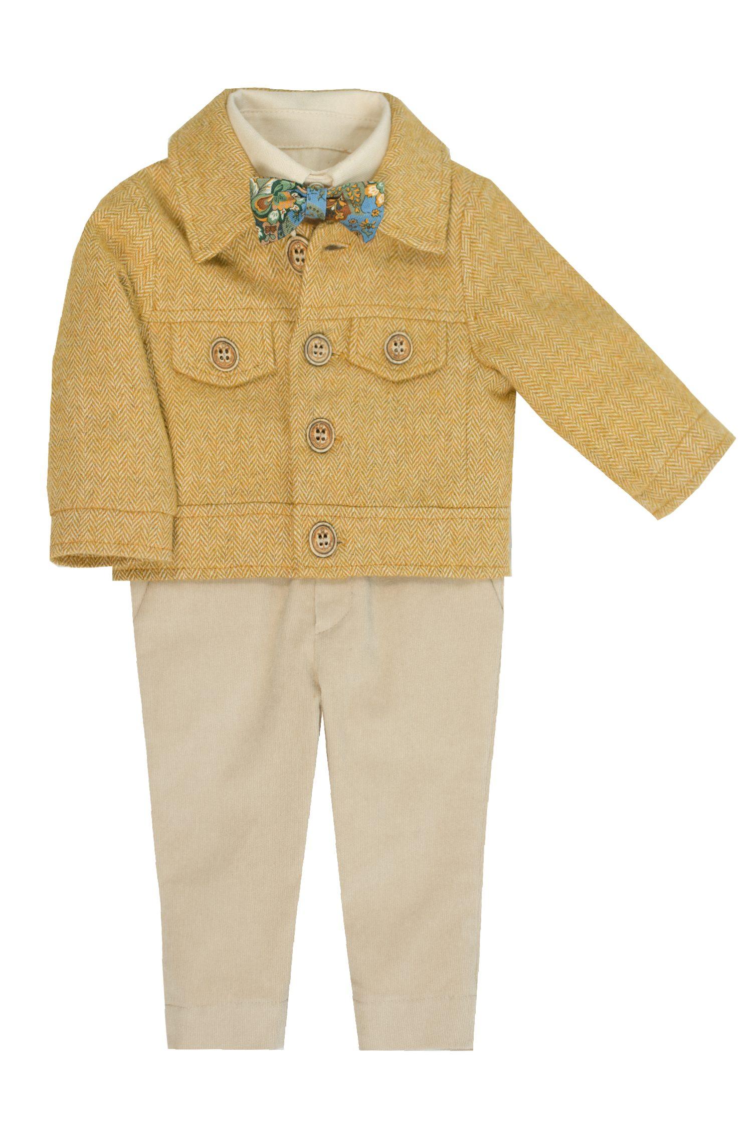 Costum de botez pentru băieți Emilian