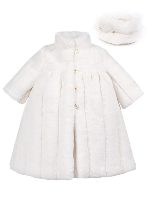 Palton de botez pentru fetițe Bianca