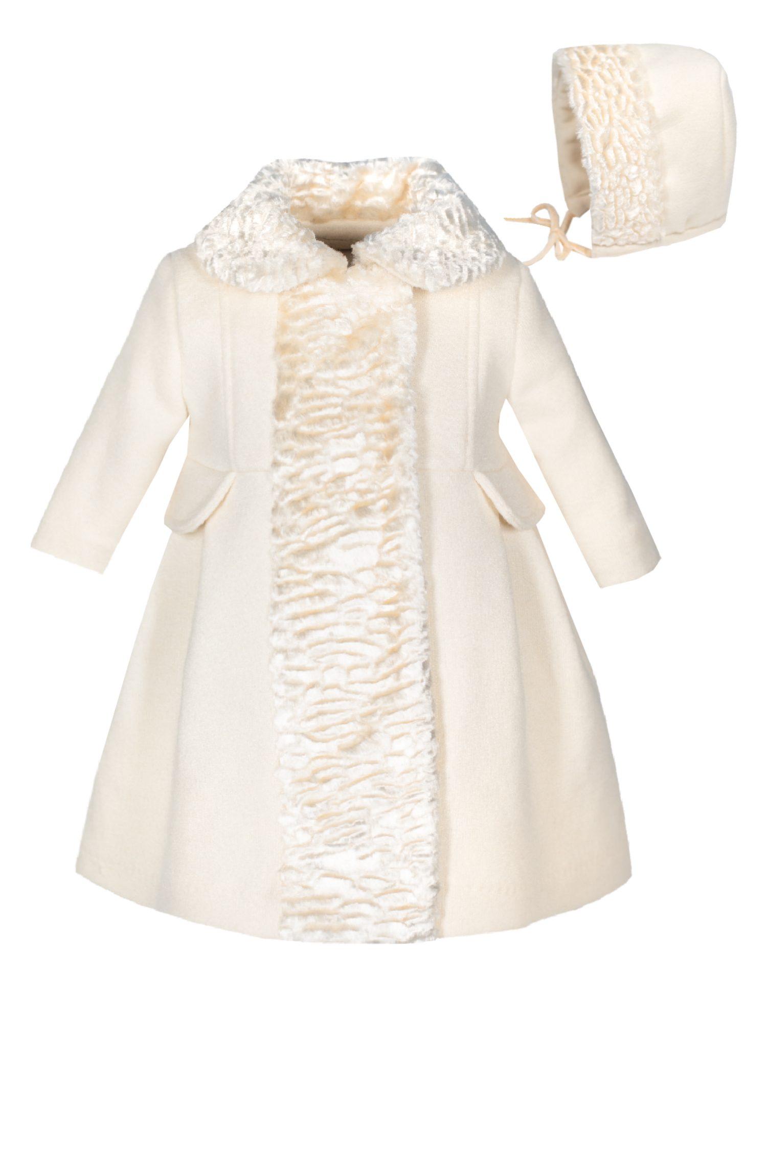 Palton de botez pentru fetițe Anna