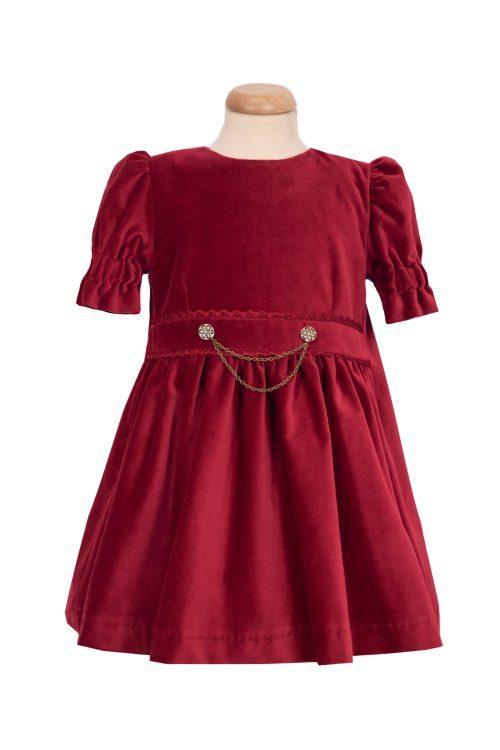 Rochie de catifea pentru fete Ania