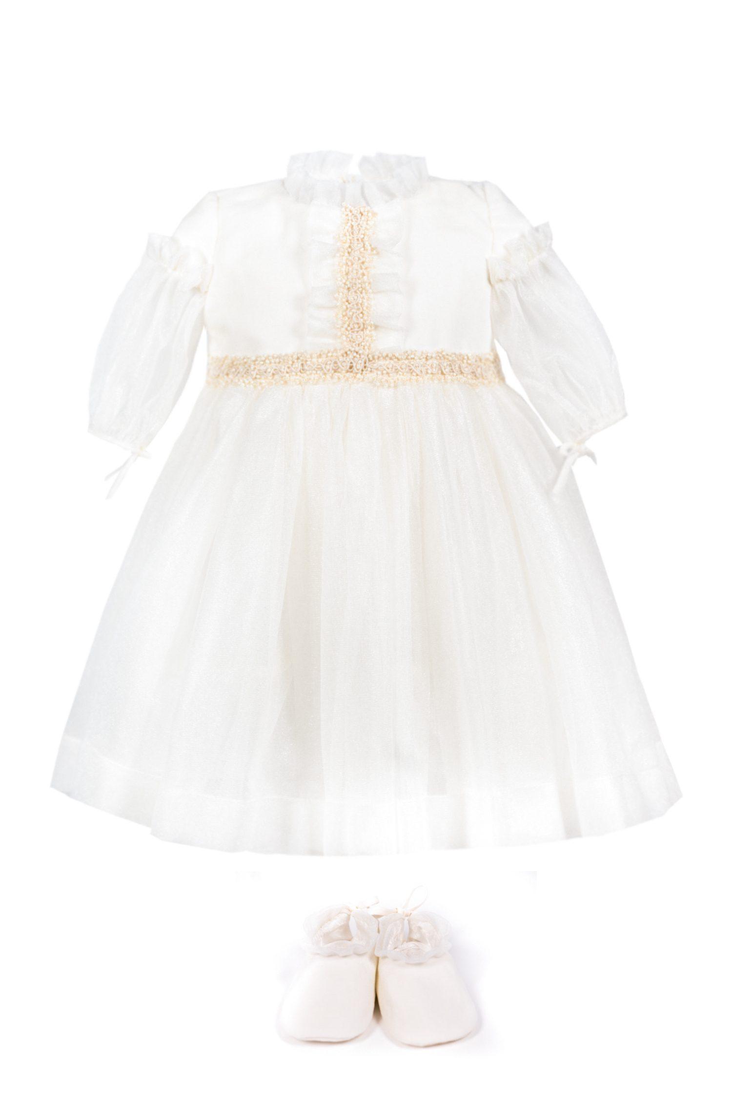 Rochie de botez pentru fetițe Caroline
