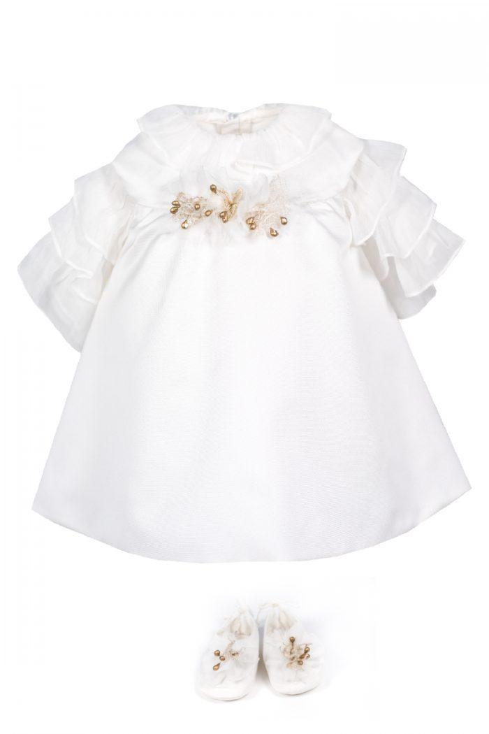 Rochie de botez pentru fetițe Adeline