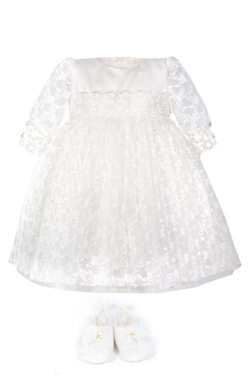 Rochie de botez pentru fetițe Violetta