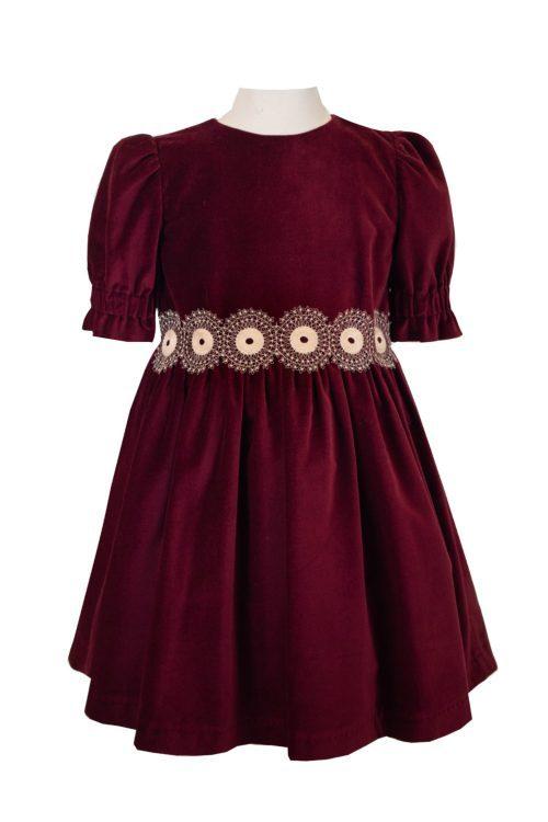 rochie pentru fete mika de catifea IRIDOR