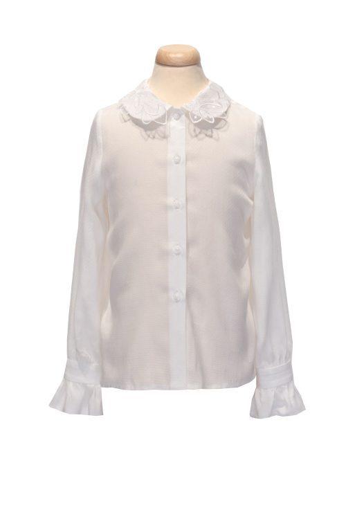 cămașă albă IRIDOR pentru fete Irene