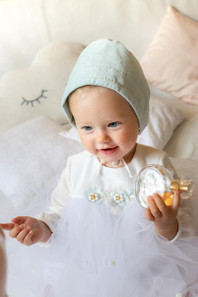 Rochie de botez pentru fetițe Erica -1
