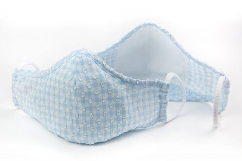 Mască textilă de protecție Feathery Sky