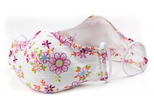 Mască textilă de protecție Dreamy Flowers