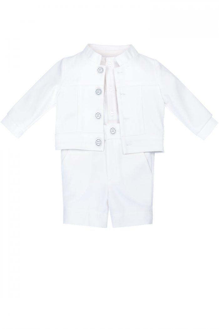 Costum de botez pentru băieți Baby Jones