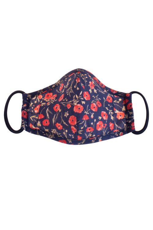 Mască de protecție pentru fete Summer Poppy