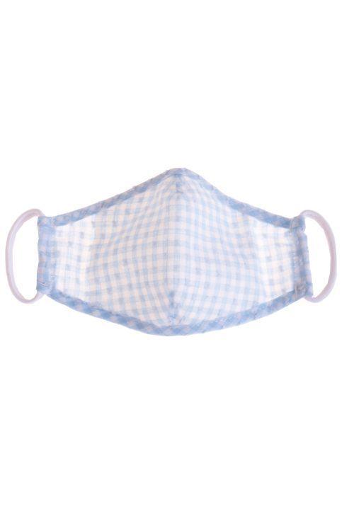 Mască de protecție pentru copii Blue Squares